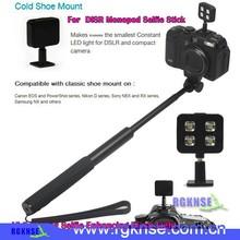 Flexible Charger camera led flash 4 lights flash vivid constant light