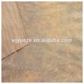 tropical de poliéster de cuero tela de tapicería