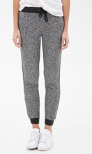 spring summer 2015 grey in Europe and the joker urban wind soft knitting female sports pants