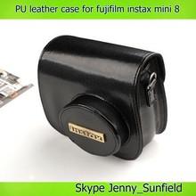 for fujifilm instax mini 8 case leather pu , for fujifilm instax mini 8 camera case