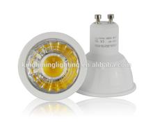 20000pcs/day Dimmable high quality 5w cob gu10 spotlight