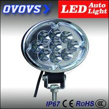 OVOVS super bright oval led working light led strobe light 27w for vehicles