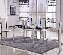 Furniture silk printing table Glass
