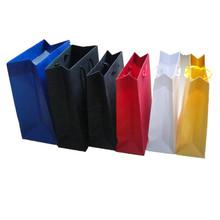Folding colorful paper bag supermaket shopping bag