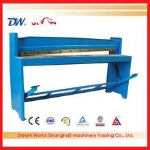 metal sheet foot pedal shear machine , foot shear , manual shears China original
