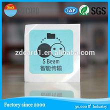 branded nfc qr-code card