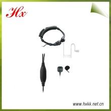 throat control headset motorola walki talki gp328