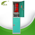 KD metal small wooden stainless steel cupboard for clothes