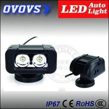 OVOVS 20w led car motorcycle auto headlight bar for truck, jeep, atv