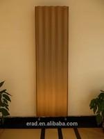 curved european stylish aluminum radiator