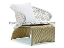 Elegant special pattern backrest rattan bedroom sex furniture LG81-0001