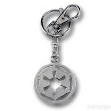 New Arrival Star Wars IMPERIAL Chain Ring Key Fob Round Keychain