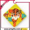Wholesale souvenir soft pvc comorative plastic fridge magnet