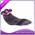 Cheveux indiens humains peuvent être teintés ou modifiés vente en gros