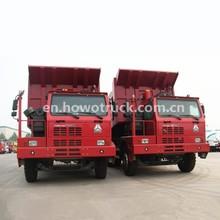 2015 NEW Sinotruk HOWO 6x4 Mining Truck 70ton mining / mine tipper / dumper trucks for sale