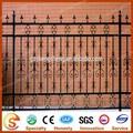 europeo recinzioni metalliche per le case recinzione in ferro battuto fornitori fiore decorativo con