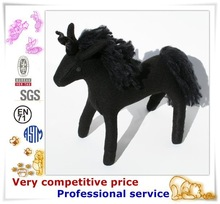 Children Safe Plush Horse Stuffed Animal Toy, bouncing horse toy