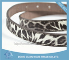 Newest Design High Quality Pu Leather Wide Women Belt
