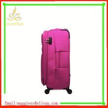 H1062 Hot sale trolley luggage, ultra lightweight nylon luggage