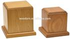 American style simply oak wooden pet casket
