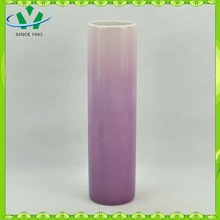 2015 purple ceramic porcelain flower vase YSv0006-01