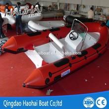 CE korea PVC10 passengers double V deep hull 5.2m rigid inflatable rib boats for sale