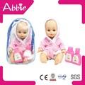 poupée réaliste de bébé en silicone de matériel environnemental poupée de bébé renaissante