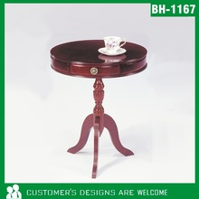 Round Wooden Table, Small Round Table, Antique Table