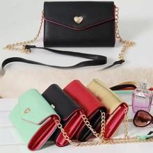 lady women handbag style smart phone wallet style leather case