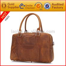 100% crazy horse leather mens bags vintage leather bag wholesale
