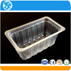 custom design welcome food grade blister tray pack pp food plastic tray