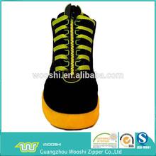 garment & bags & golf shoes plastic zipper close end