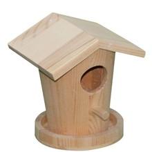 Caliente la venta de madera y artesanías de pajareras, casas del pájaro pinzón