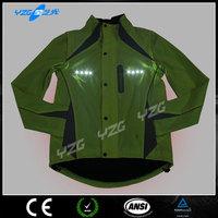LED Flash motorcycle riding jacket