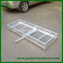 Aluminum Mesh Platform Caro Carrier, Hitch Cargo Carrier For Car