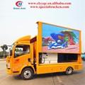 Howo 4x2 ao ar livre de publicidade em movimento de caminhões, mobile tela de caminhão, e tela de exibição com p 6, p 8, p10 tela para venda