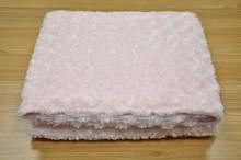 GCEBKT120 rose fleece with velboa pajamas adults blanket throw blanket
