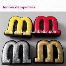 Nuevo diseño de la forma m color dorado/color plata tenis amortiguadores de choque/dampeenrs 2015 para