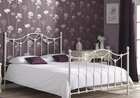 Latest modern metal bed designs double/king/queen size DB-4749