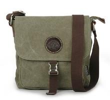 Classical Plain Custom Bag Shoulder Single Strap Canvas Messenger Bag