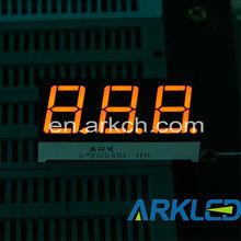 Hot Sale, Free Sample, ARK 0.56 Inch Triple Digit Display Amber Color For clock Timer