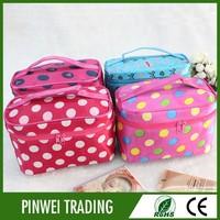 rolling beauty case/cosmetic rolling case/beauty cosmetic case