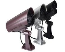 New Bullet CCTV DVR Surveillance IR Simulation Mock Fake Dummy Security Camera with Infrared LED Blinks Flashing Light