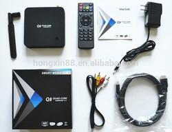 android tv box firmware android box tv RK3288 High Quality Q8 Tv Box H.265, 2GB/8GB, dvb-c android tv box