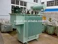250 11kv kva transformador de aceite con el tanque