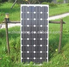 Best 100W mono solar panel high efficiency good quality