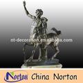 Famoso abstracta escultura de bronce romana ntbh- s0313