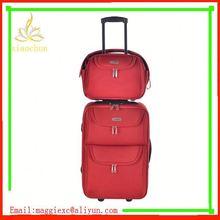 H463 Hot sale trolley luggage, beautiful design nylon luggage set