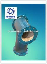 Wear Resistant Ceramic Lined Steel Pipe