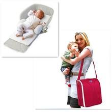 Fashion High Quality Foldable Diaper Bag Baby Travel Cot Bag